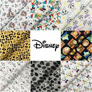 Streifen Disney Kinderstoff Baumwollstoff Mickey /& Friends in Kreisen