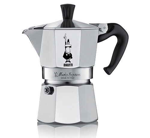 Bialetti Moka Express Aluminium Espressokocher ver Größen Top Angebot