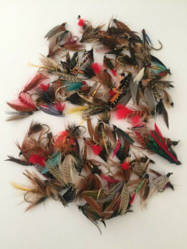 Fly Fishing Assorted Wet Flies 25,50,100 and bumper pack 500 flies