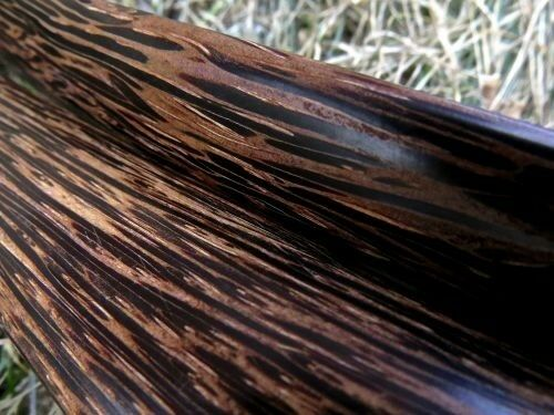 Pea Patch Minstrel-style Tigerwood Rhythm Bones narrow
