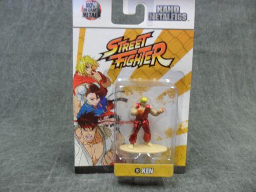 Ken Street Fighter NEW 99196 Jada Nano Metalfigs Diecast Figure Statue