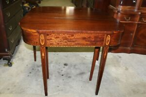 Antique-Mahogany-Satinwood-Inlay-Extendable-Game-Table-Jefferson-Woodworking