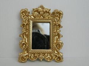 (hp4) échelle 1/12th Maison De Poupées Décoration Miroir-afficher Le Titre D'origine Soulager Le Rhumatisme Et Le Froid