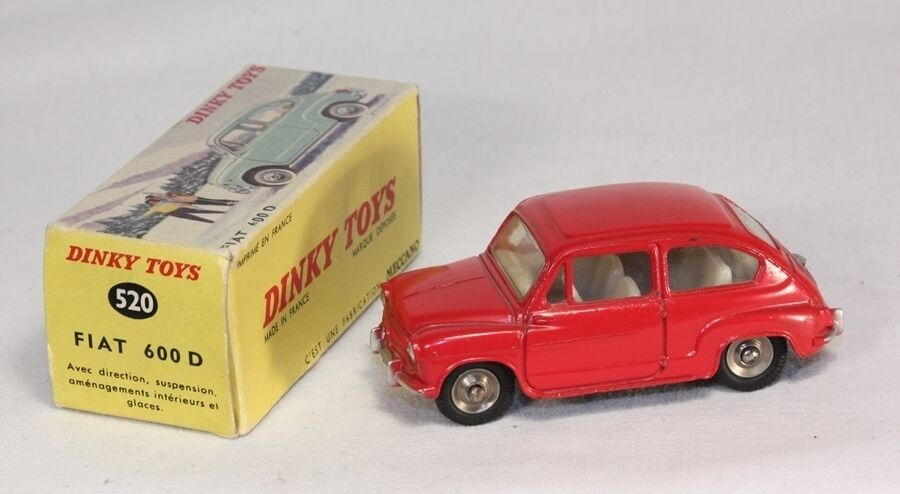 Dinky Toys 520, Fiat 600 D, Mint in Box  ab1237