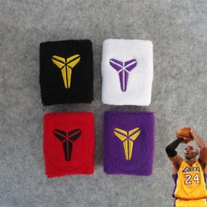 Details about Kobe Bryant bracelet wristband Basketball Lakers black mamba cotton 4 colors