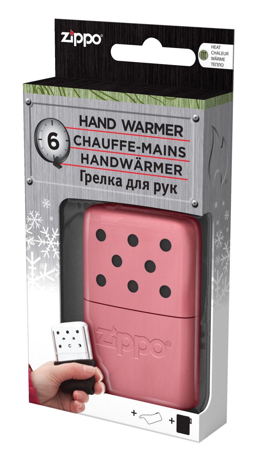 3 Stück Zippo 60001663 Handwärmer little Pocket Größe  Rosa NEU+OVP