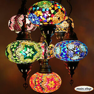 mosaik h ngelampe deckenlampe lampe orientalisch mosaik. Black Bedroom Furniture Sets. Home Design Ideas
