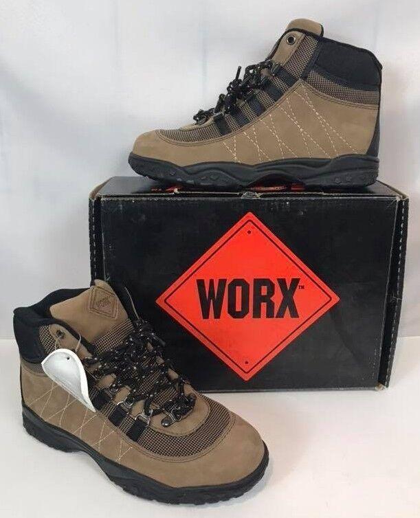 Nueva con caja caja caja WORX by rojo wing Puntera De Acero botas Para Excursionismo para Mujer Marrón Envío Gratis en EE. UU.  tiendas minoristas