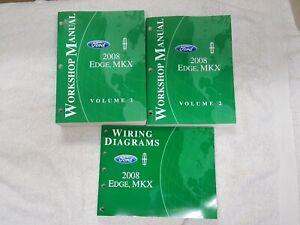 2008 Ford Edge Lincoln MKX Shop Repair Service Manual ...