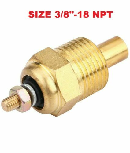 MERCRUISER V6 151 175 205 262 4.3 L WATER TEMPERATURE SENDER SENSOR  22-811091