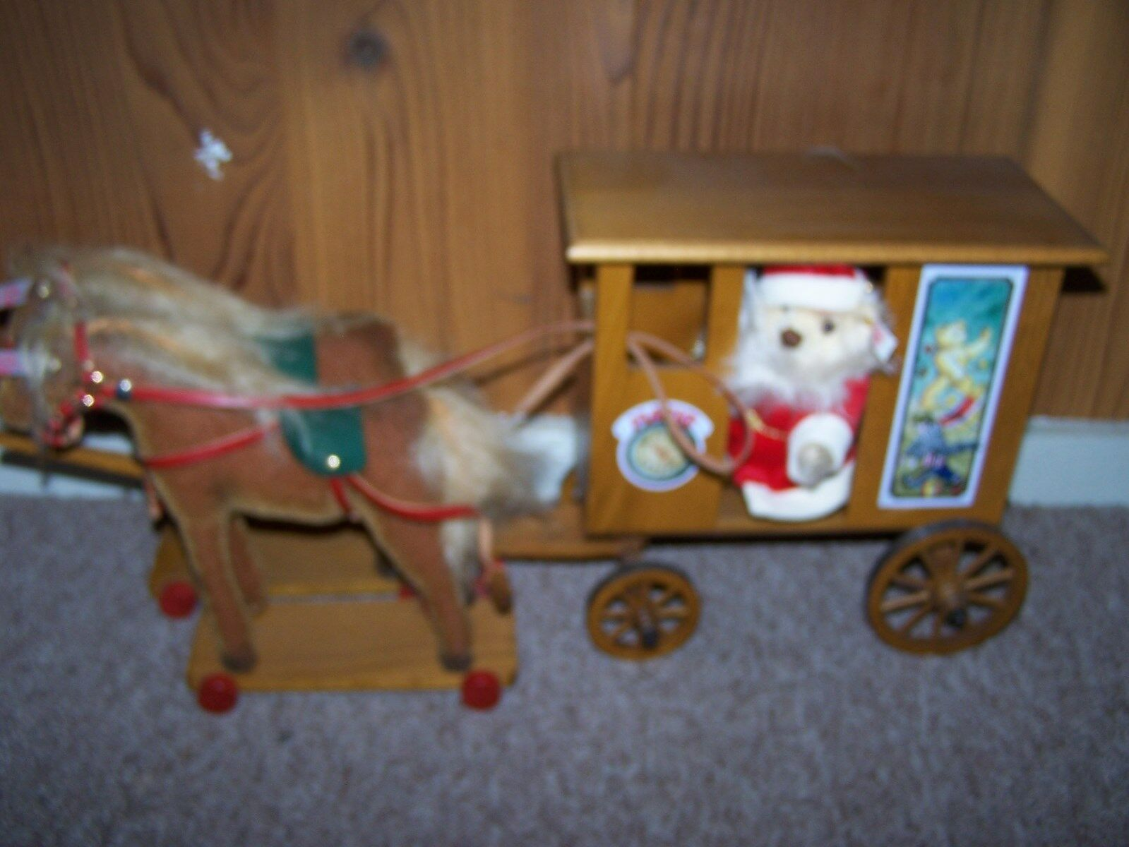 STEIFF SANTA'S EXPRESS NEW w  BOX LIMITED   70 OF 2002 pcs ALL BOXES & PAPERS