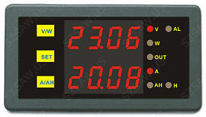 Programmable-Combo-Meter-0-90V-0-100A-Volt-AMP-Power-AH-Battery-Capacity-Tester