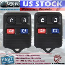 2x Car Remote Key Fob For 2000 2001 2002 2003 2004 2005 2006 Ford Crown Victoria Fits Ford