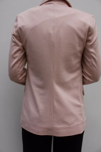 Warehouse Pink Open Front Long Sleeve Smart Fitted Suit Blazer Jacket 8 to 14