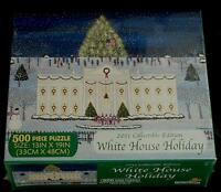 Brand Factory Sealed 500 Pc White House Holiday 2011 Collectible Ed. Puzzle