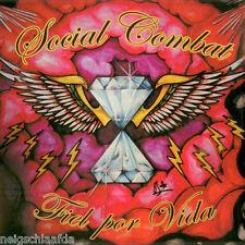 SOCIAL COMBAT – FIEL POR VIDA LP punk oi! decibelios
