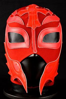 MRMASKMAN REY RED Kid Mask Mexican Wrestling Mask Lucha Libre Luchador Costume