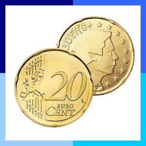 Ek // 20 Cent Luxembourg # Pièce Nueve : Sélectionnez une Année :