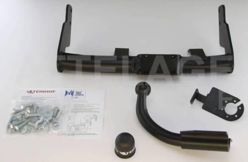Peugeot 106 3//5P Hayon 96-04 Attelage fixe+faisceau 7 broches