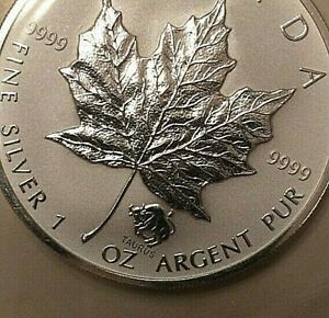 2004-Taurus-Privy-Maple-Leaf-1-oz-9999-Silver-Coin-Canada-with-COA-mint-sealed