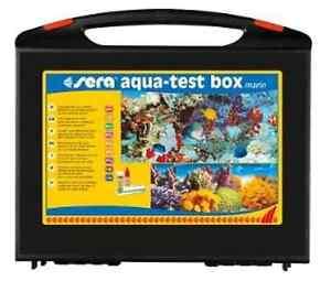 Sera-Aqua-Test-Box-Marin-Testlabor-Testkoffer-Meerwasser-m-Reagenzien-Wassertest