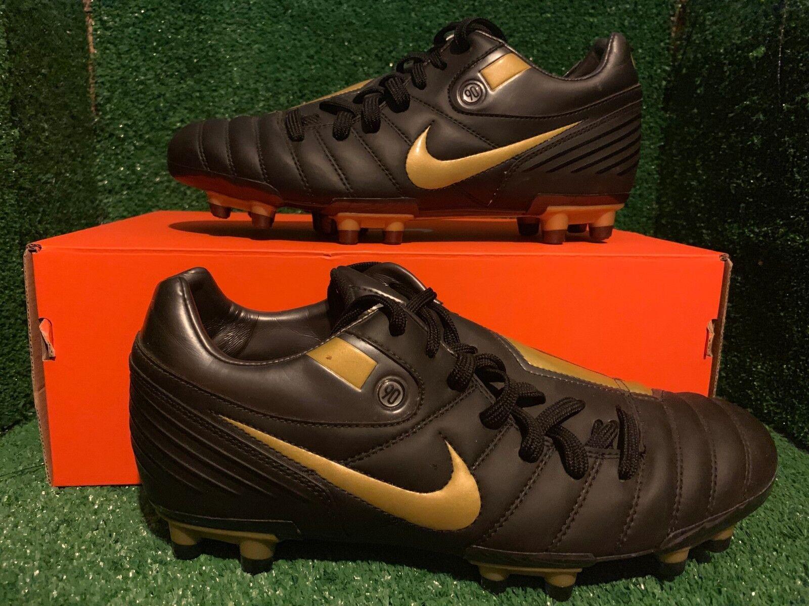 Nike Air Zoom Total 90 I Fg supremacía Botines De Fútbol 8,5 7,5 42