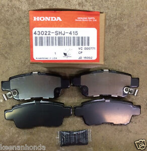 Elegant Image Is Loading Genuine OEM Honda Odyssey Rear Brake Pad Set