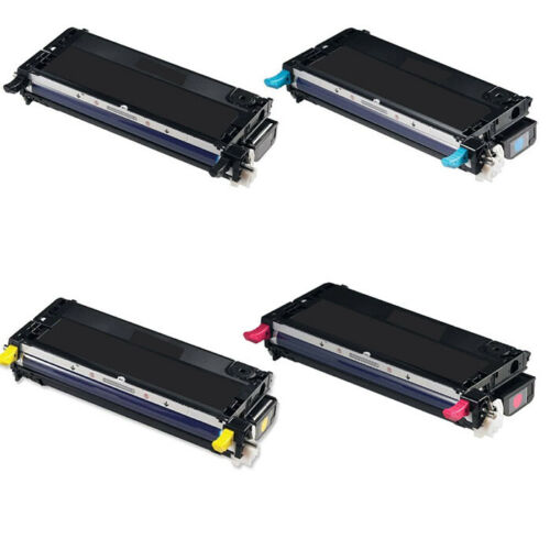 4 Pack 3110cn 3115cn 3110 3115 color Toner Cartridge Set  for DELL FREE SHIPPING