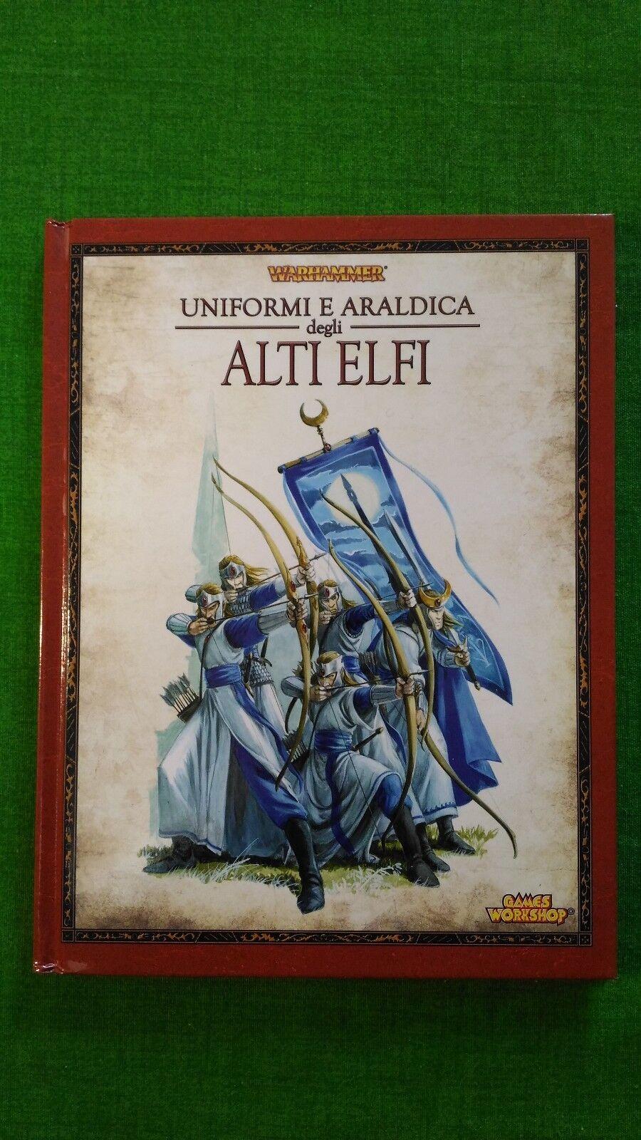 Warhammer fantasy - Uniformi e araldica degli Alti Elfi - Games Workshop
