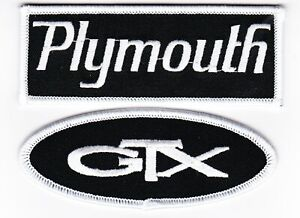 DUSTER 340 SEW//IRON ON PATCH BADGE EMBLEM EMBROIDERED MOPAR HEMI CAR PLYMOUTH