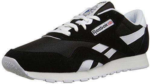 info for ebd42 b9a6b Reebok FTwear 6604 Mens Classic Sneaker, Sneaker, Sneaker, Black White, 10M
