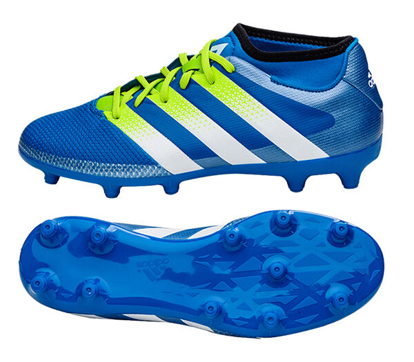 Adidas ACE 16.3 Primemesh FGAG AQ2556 Firm  Artificial Ground Cleats, Soccer