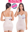 Fajas Colombiana Strapless Fajate Slimmer Shapewear Slip Faja Levanta Cola Dress