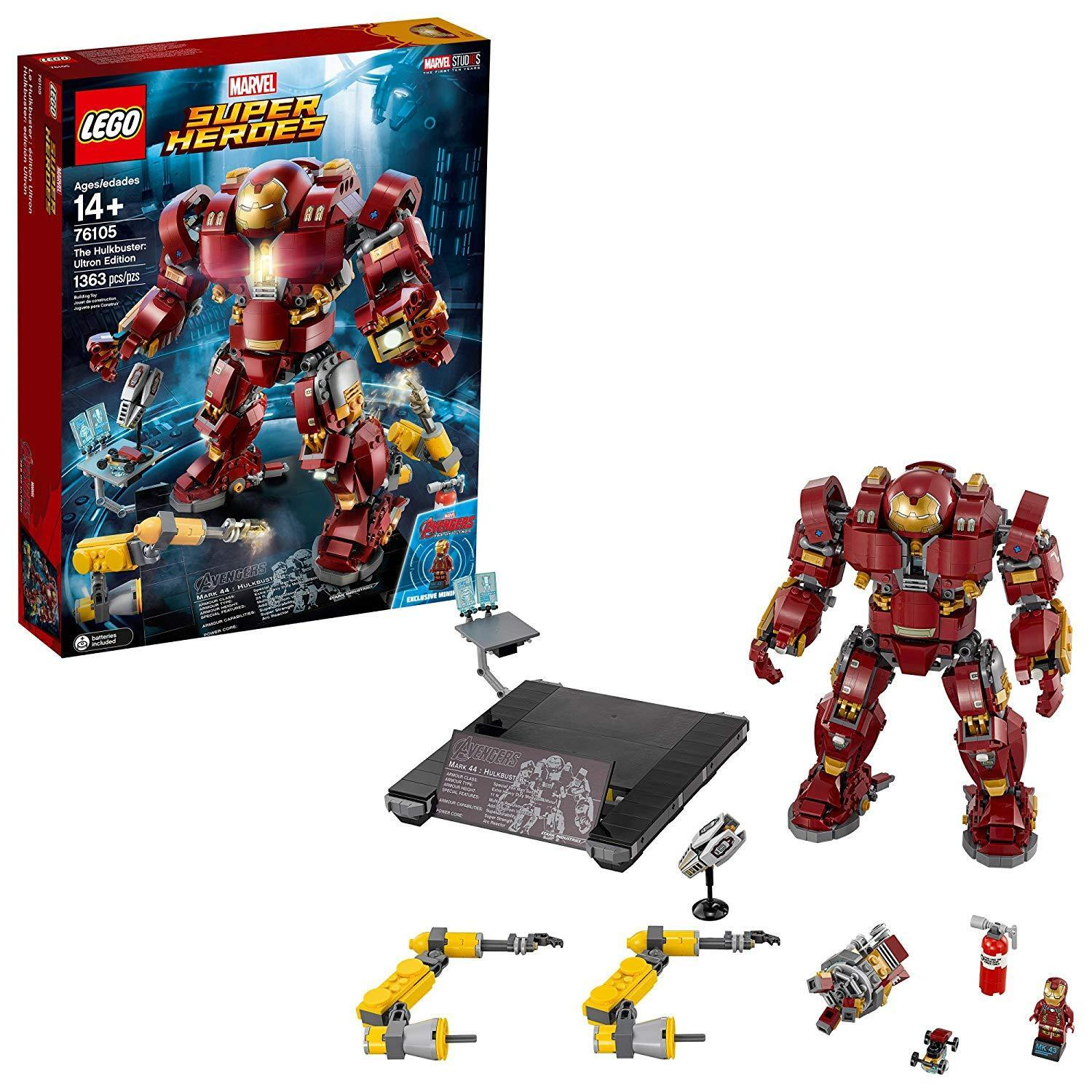 LEGO Super Heroes The Hulkbuster: Ultron Ed. 76105 Building Kit (1363 Piece)