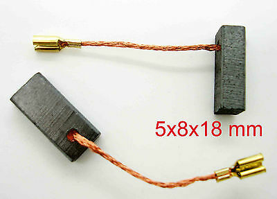 B 4201 2061 B 4200 Kohlebürsten für Bosch POF 600 ACE B 4300-5x8x17mm