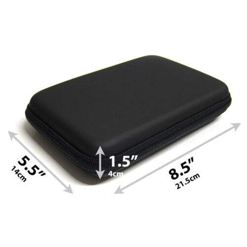 7-inch Hard Shell Carrying Case For Garmin Drive 6 6LM EX GPS HC7