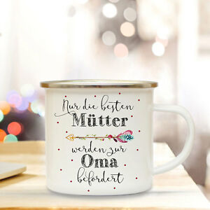 Zielsetzung Emaille Tasse Baby Campingbecher Spruchbecher Motto Mutter Oma Kaffeebecher Eb60 Büro & Schreibwaren Tassen