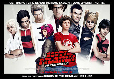 Scott Pilgrim Vs The World Movie Poster #101 11x17 Mini Poster 28cm x43cm