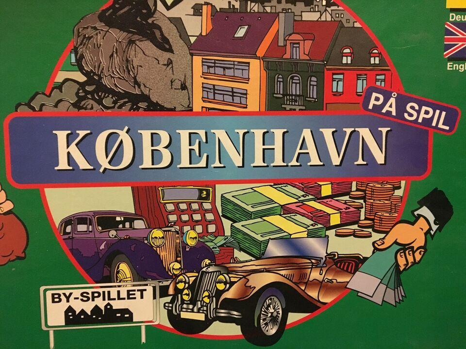 København på spil, Familie spil, brætspil