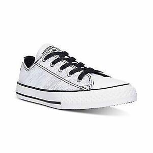 d28c7b1dc2bb Converse Junior Girl s Chuck Taylor All Star Ox Shine Sneaker Size 6 ...