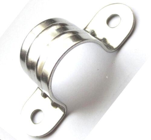 Rohrschellen Edelstahl A2 Halbschale D25mm Rohrklemmen Bügelschelle Halteschelle