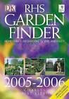 RHS Garden Finder: 2005-2006 by Dorling Kindersley Ltd (Paperback, 2005)