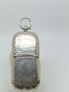 Antique-1908-Colen-Hewer-Sterling-Silver-Vesta-Case-amp-Sovereign-Coin-Holder