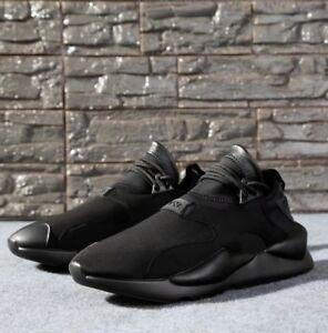 NEW-Y3-Kaiwa-Yohji-Yamamoto-Boost-Lace-Up-Men-039-s-Qasa-High-Black-Trainers-Shoes