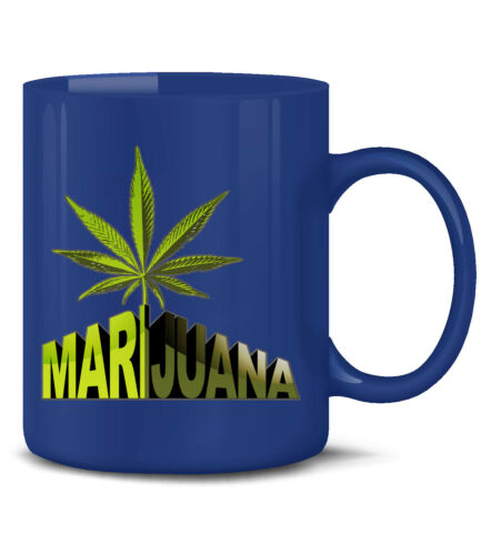 De La Marijuana Tasse sensass sort Marrant Drôle Tasse Gobelet cannabis drogue