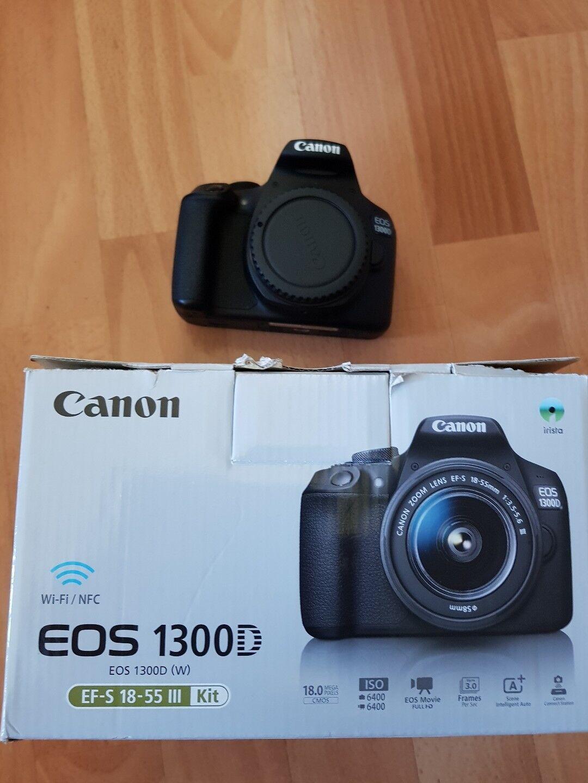 Canon Eos 1300d Kit Ef S 18 55 75 300 Digitalkamera Ebay Kamera Iii