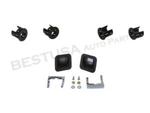 Rear Bumper Sensor Inner Out Bezel Retainer SMOOTH 4pc For Dodge Ram 1500 09-18