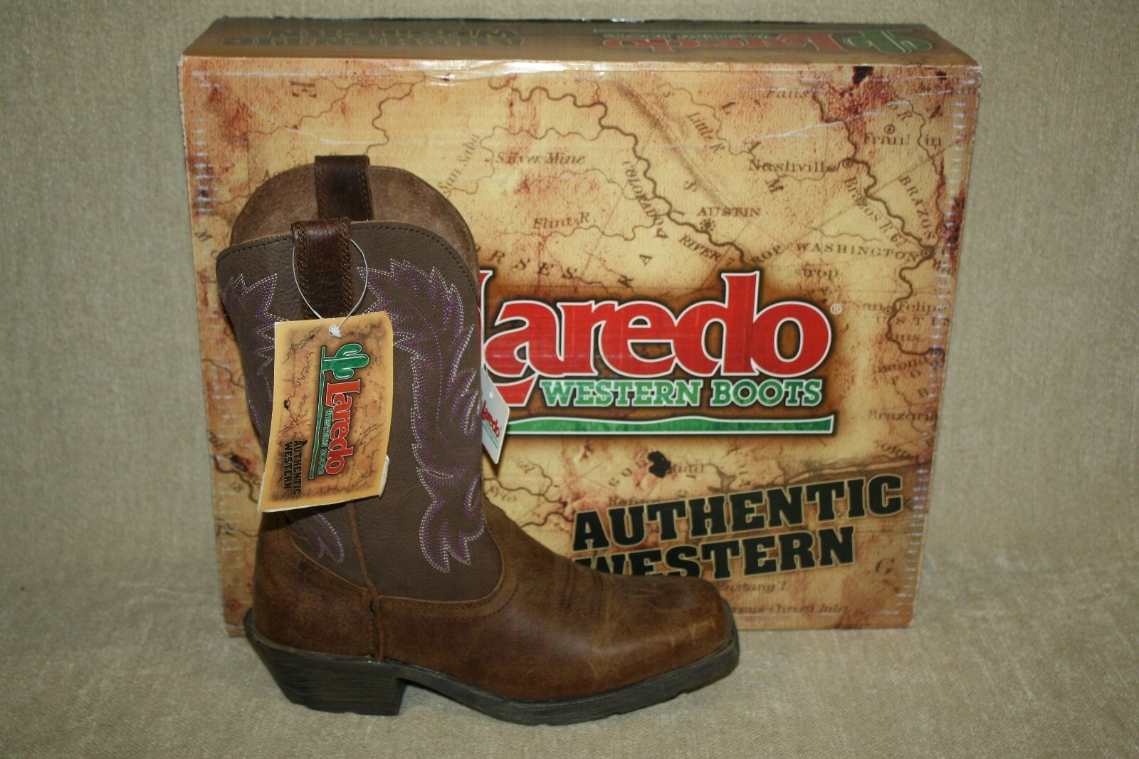 femmes LArougeO PROWLER VINTAGE TAN 10 INCH 5313 COWGIRL COWGIRL COWGIRL bottes-SEE TailleS (B160) 4c84b3