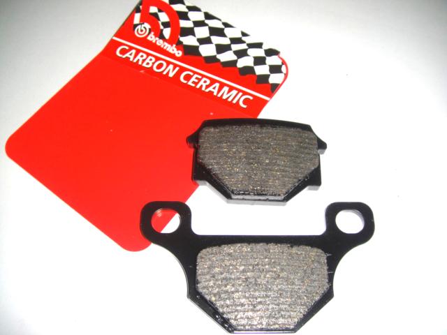 GR09CC Brake Pads Carbon BREMBO Front Rieju Mrt Supermotard 50 2009 >