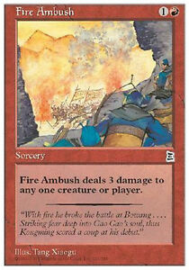 Fire-Ambush-MTG-MAGIC-P3K-Portal-Three-Kingdoms-Eng